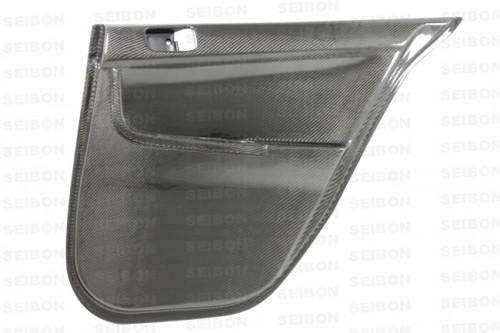 2008-2013年三菱藍瑟EVO X的碳纤维后车门内饰板