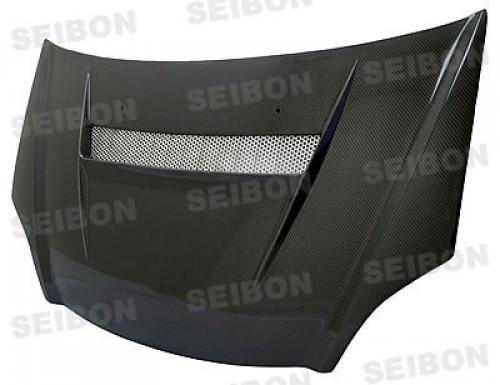 2002-2005年本田思域SI的VSII款式直纹碳纤维发动机盖