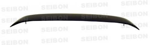 1996-2000年本田思域掀背式的OEM款式碳纤维尾翼(带灯)