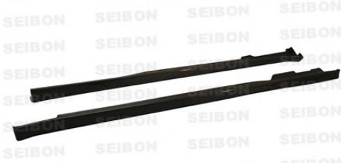 1996-2000年本田思域 2门/掀背式的TR款式碳纤维底边