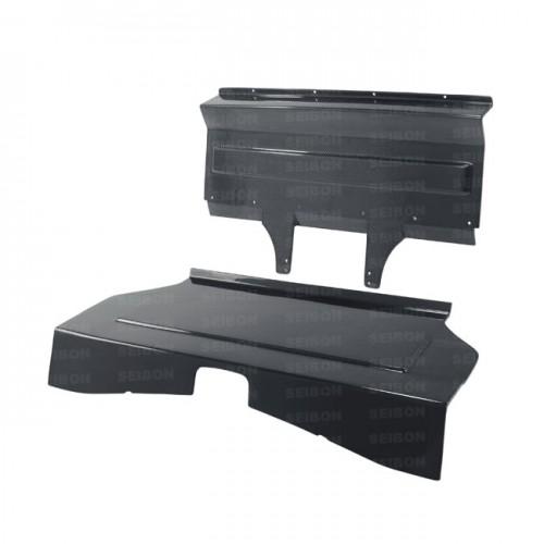 2013-2017年丰田86 / 斯巴鲁BRZ的碳纤维后座椅板