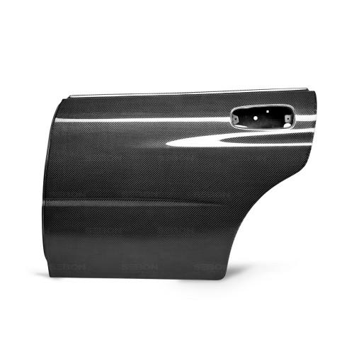 2002-2007年斯巴鲁翼豹 / WRX / STI的OEM款式碳纤维后车门*