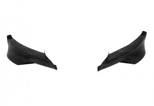 2009-2011年宝马E90 3系M运动型四门的TA款式碳纤维前下导流板