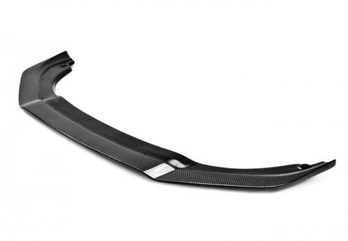 2012-2013年大众高尔夫R的TT款式碳纤维前下导流板