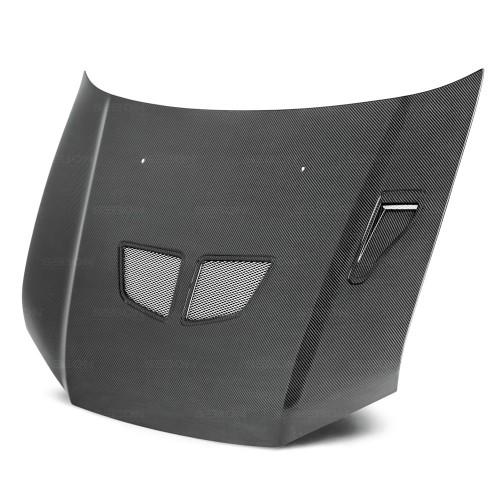 OEM-Style Carbon Fiber Hood for 2002-2003 Mitsubishi Lancer Evo7