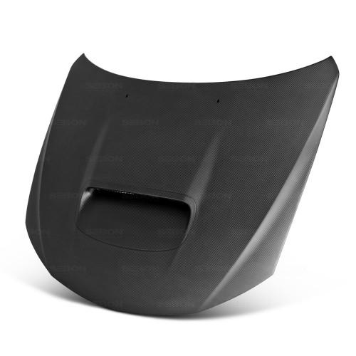 2008-2014年斯巴鲁WRX / STI的OEM款式全碳纤维发动机盖*