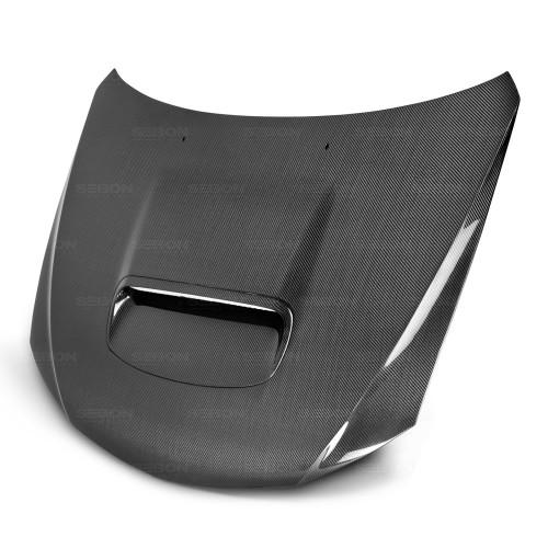 2008-2014年斯巴鲁WRX / STI的OEM款式碳纤维发动机盖
