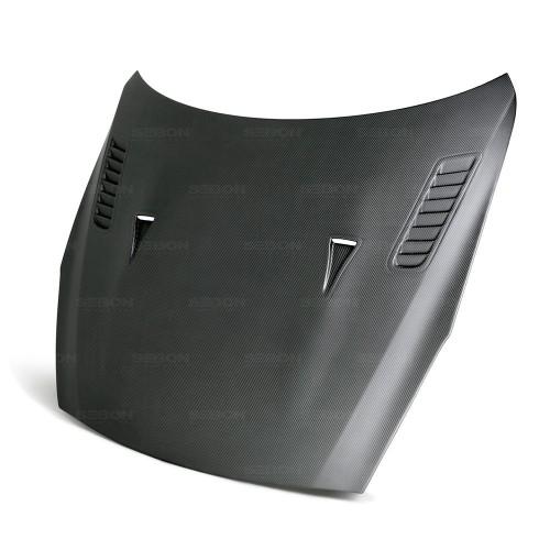 2009-2016年日产GT-R的ES款式全碳纤维发动机盖*