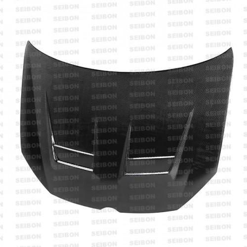 2010-2014年大众高尔夫/GTI的DV款式碳纤维发动机盖