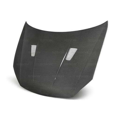 2010-2014年大众高尔夫 / GTI / R的TM款式碳纤维发动机盖 (无车标款)