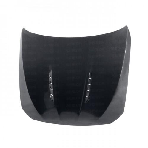 2010-2013年宝马F10 的BT款式碳纤维发动机盖