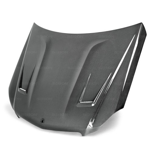 GT-style carbon fiber hood for 2012-2014 Mercedes Benz C-class (Does not fit C-63)