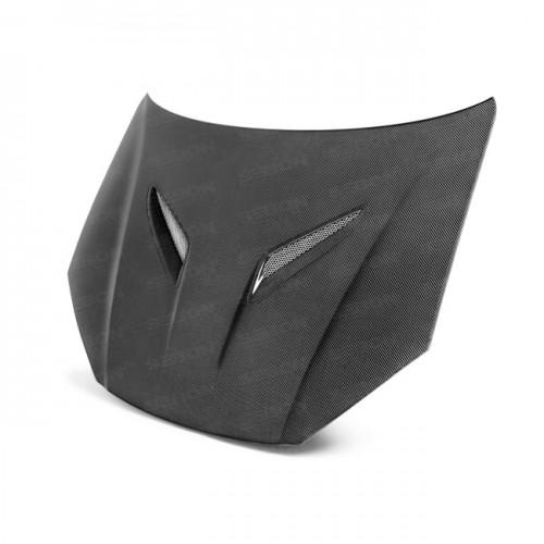 OEM-Style Carbon Fiber Hood for 2013- up Hyundai Genesis 2DR