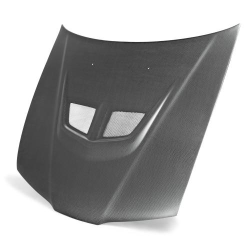 1992-1996年本田Prelude的EVO款式碳纤维发动机盖(哑光)