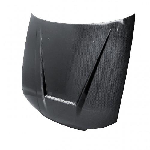 1999-2002年日产SILVIA S15的VSII款式直纹碳纤维发动机盖