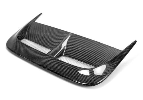 2002-2003年斯巴鲁翼豹WRX的CW款式碳纤维头盖进风口
