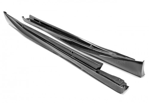 OEM-style carbon fiber side skirts for 2014-up Lexus IS 250/350