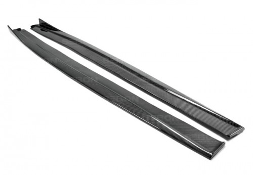 TP-style carbon fiber side skirts for 2014-up Lexus IS 250/350