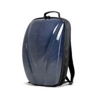 碳纤维硬壳双肩背包 - 蓝色