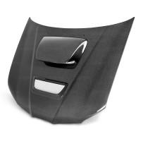 2006-2007年斯巴鲁翼豹 / WRX / STI的RC款式直纹碳纤维发动机盖