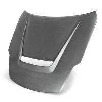 2007-2008年日产350Z的VSII款式碳纤维发动机盖(哑光)(also fits 2002-2006 models)