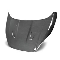 TM-style carbon fiber hood for 2014-up 福特Fiesta