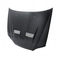 XT-style carbon fiber hood for 1998-2002 Honda Accord 4DR (straight weave)